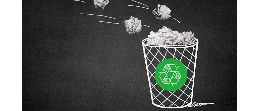 Reciclaje de papel y cartón