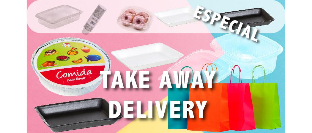 ¿Qué envases utilizar para el take away, delivery o listo para llevar?